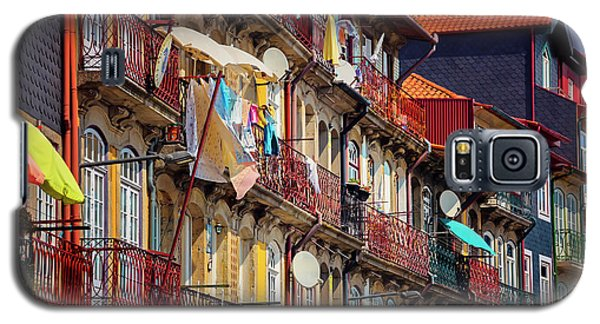 Galaxy S5 Case featuring the photograph Life In Ribeira Porto  by Carol Japp