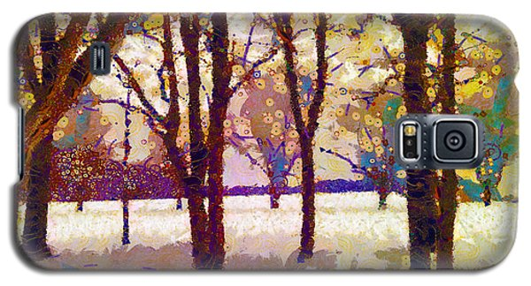 Life In The Dead Of Winter Galaxy S5 Case by Gustav James