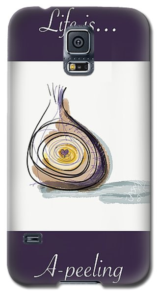 Life Is A-peeling Galaxy S5 Case