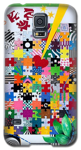 Life Is A Puzzle Galaxy S5 Case