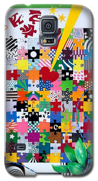 Life Is A Puzzle Galaxy S5 Case by Thomas Gronowski