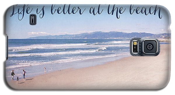 Venice Beach Galaxy S5 Case - Life Is Better At The Beach by Nastasia Cook