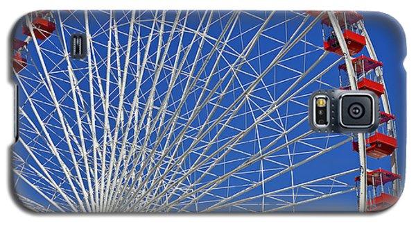 Life Is Like A Ferris Wheel Galaxy S5 Case