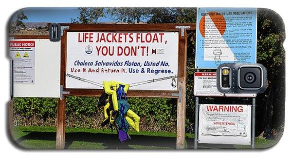 Life Jackets Float Galaxy S5 Case