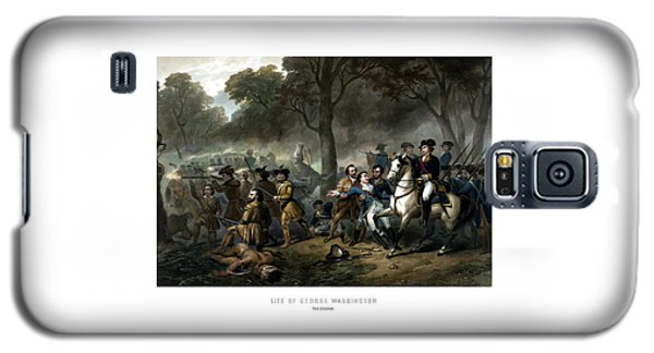Life Of George Washington - The Soldier Galaxy S5 Case by War Is Hell Store