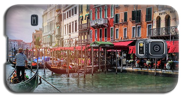 Life On The Grand Canal Venice Italy  Galaxy S5 Case