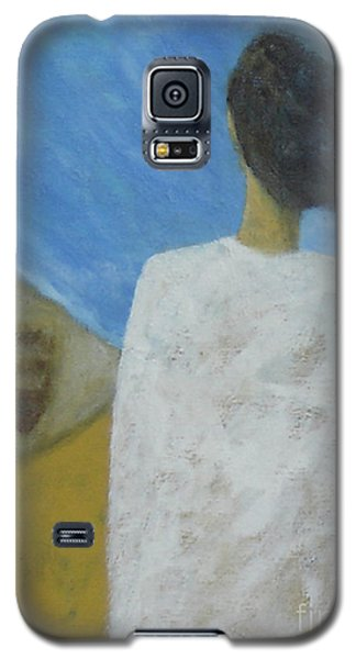 Galaxy S5 Case featuring the painting Lifeboat by Glenn Quist