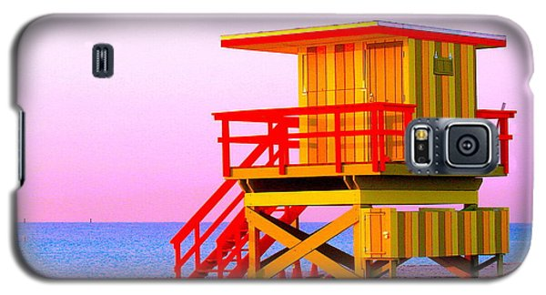 Lifeguard Stand Miami Beach Galaxy S5 Case