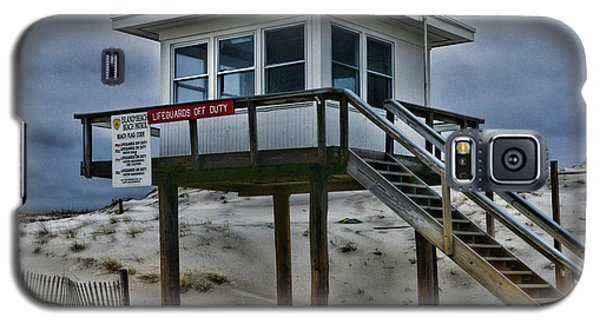 Galaxy S5 Case featuring the photograph Lifeguard Station 2  by Paul Ward