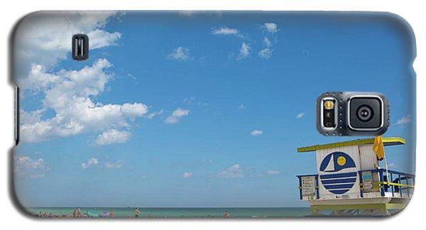 Lifeguard Station Miami Beach Florida Galaxy S5 Case