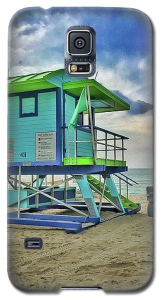 Lifeguard Station - Miami Beach Galaxy S5 Case