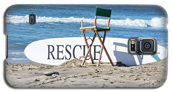 Lifeguard Surfboard Rescue Station  Galaxy S5 Case
