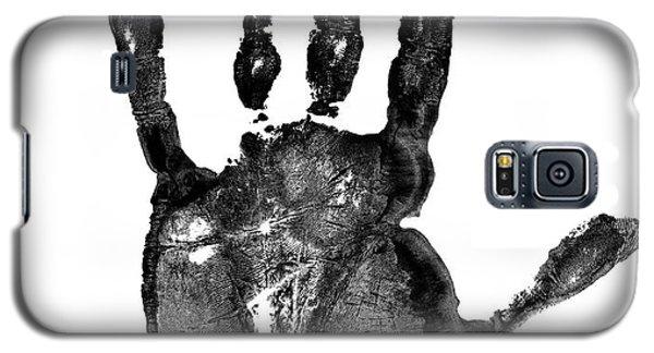 Lifeline - Free Hand Galaxy S5 Case by Michal Boubin