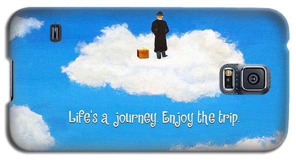 Life's A Journey Greeting Card Galaxy S5 Case