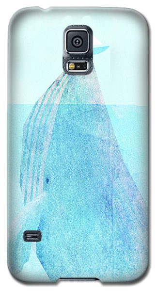Whale Galaxy S5 Case - Lift Option by Eric Fan