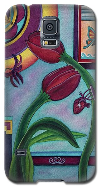 Lifting And Loving Each Other Galaxy S5 Case by Lori Miller