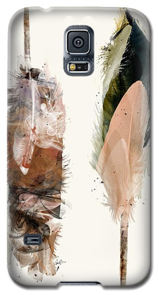 Galaxy S5 Case featuring the painting Light And Love by Bri B