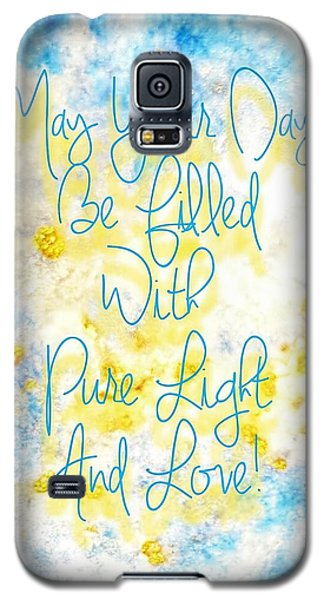 Light And Love Galaxy S5 Case
