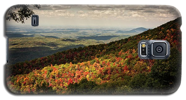 Galaxy S5 Case featuring the photograph Light And Shadow On Tennessee Mountains by Chrystal Mimbs