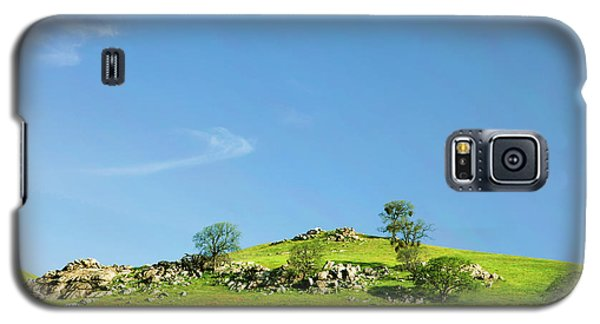 Galaxy S5 Case featuring the photograph Light And Shadows - Spring In Central California by Ram Vasudev
