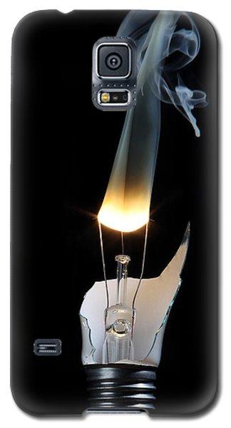 Light And Smoke Galaxy S5 Case