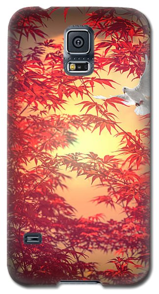 Galaxy S5 Case featuring the photograph Light As A Feather by Philippe Sainte-Laudy