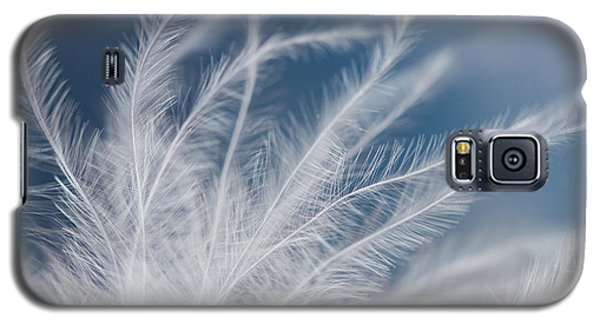 Galaxy S5 Case featuring the photograph Light As A Feather by Yvette Van Teeffelen