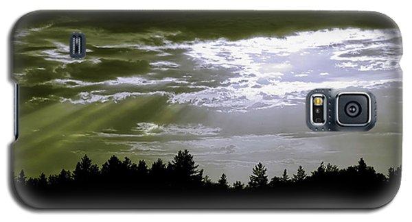Light Blast In Evening Galaxy S5 Case