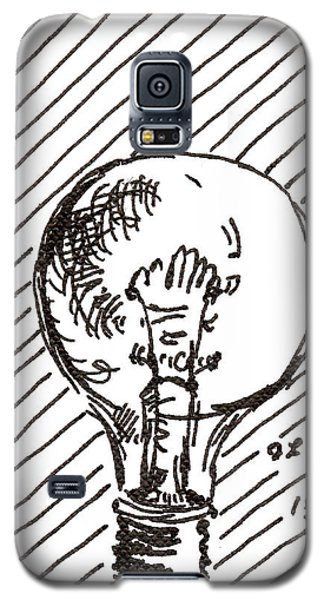 Light Bulb 1 2015 - Aceo Galaxy S5 Case