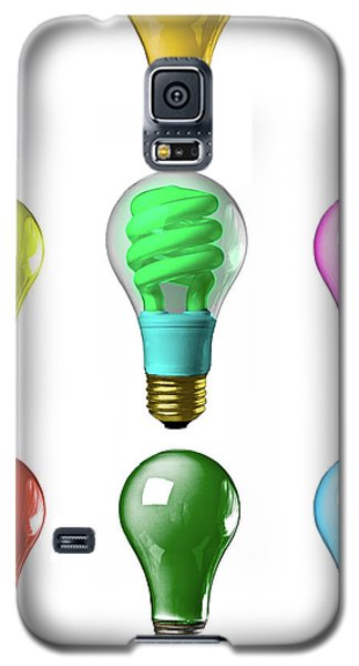 Light Bulbs Of A Different Color Galaxy S5 Case by Bob Orsillo