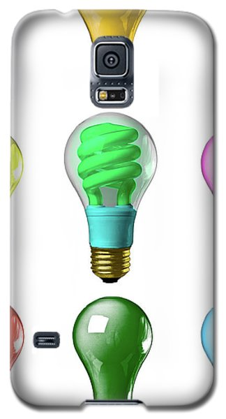 Light Bulbs Of A Different Color Galaxy S5 Case