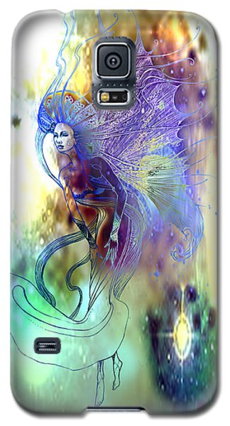 Galaxy S5 Case featuring the painting Light Dancer by Ragen Mendenhall