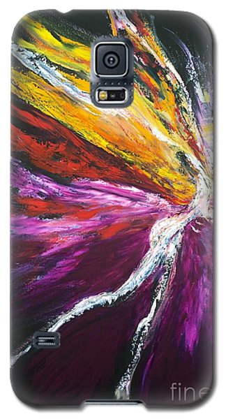 Galaxy S5 Case featuring the painting Light Fairy by Marat Essex