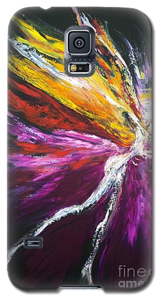 Light Fairy Galaxy S5 Case by Marat Essex