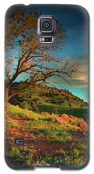 Galaxy S5 Case featuring the photograph Light Of The Hillside by John De Bord
