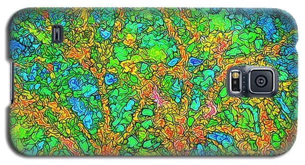 Galaxy S5 Case featuring the digital art Light Of The Radiant Sun - Trees In Boulder County Colorado by Joel Bruce Wallach