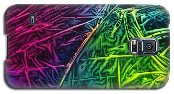 Light Painting Colors Abstract Experimental Chemiluminescent Photography Galaxy S5 Case