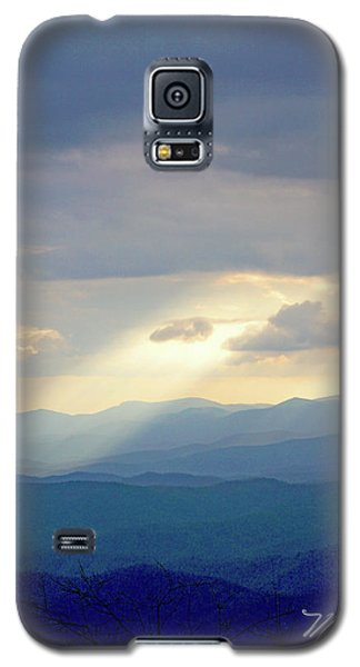 Light Ray Sunset Galaxy S5 Case by Meta Gatschenberger
