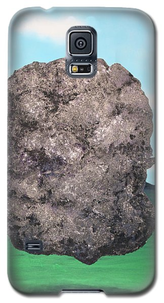 Galaxy S5 Case featuring the painting Light Rock by Thomas Blood