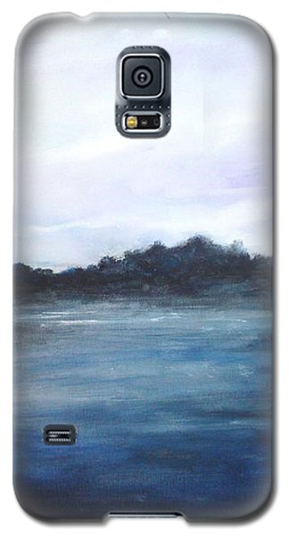 Galaxy S5 Case featuring the painting Light Sky by Rushan Ruzaick