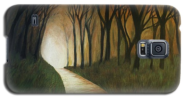 Galaxy S5 Case featuring the painting Light The Path by Christy Saunders Church