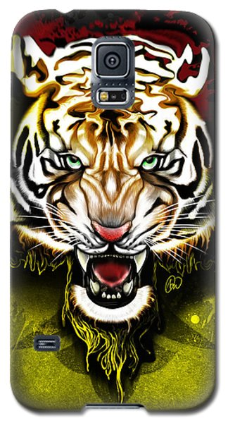Galaxy S5 Case featuring the digital art Light The Torch by AC Williams