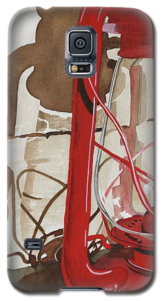 Galaxy S5 Case featuring the painting Light The Way by Cynthia Powell