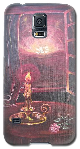 Light The Yes Candle Galaxy S5 Case by Sigrid Tune