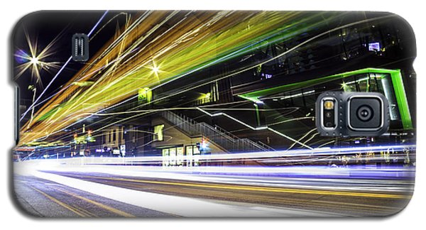 Galaxy S5 Case featuring the photograph Light Trails 1 by Nicklas Gustafsson