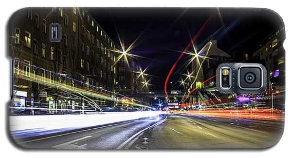 Galaxy S5 Case featuring the photograph Light Trails 2 by Nicklas Gustafsson