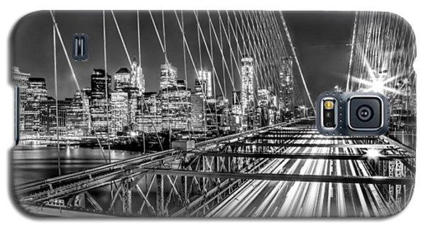 Light Trails Of Manhattan Galaxy S5 Case