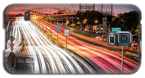 Light Trails On I-278 Near Triboro Bridge Galaxy S5 Case