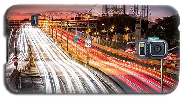 Light Trails On I-278 Near Triboro Bridge Galaxy S5 Case
