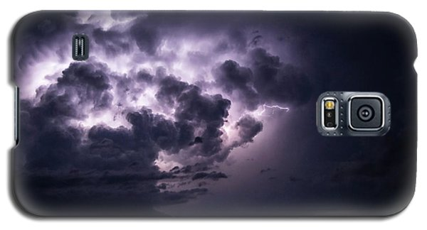 Lightening At Night Galaxy S5 Case